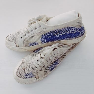 Visible Mending on Shoes??