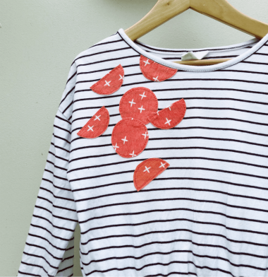 Repair a Stained T-shirt